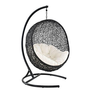 Encase Outdoor Black Swing Chair