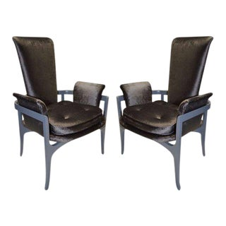 James Mont Mid-Century Chairs- A Pair