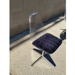 Image of Blue Chromcraft Modern Chairs - Set of 4