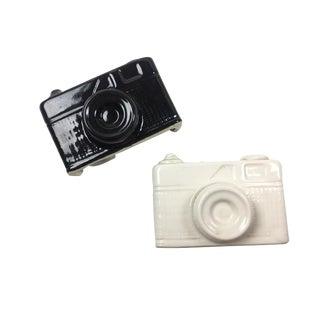 Vintage Camera Shaped Salt & Pepper Shakers - A Pair