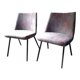 ABC Home Custom Upholstered Chairs- A Pair