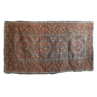 """Hand Knotted Turkish Rug - 3'7"""" x 6'2"""""""