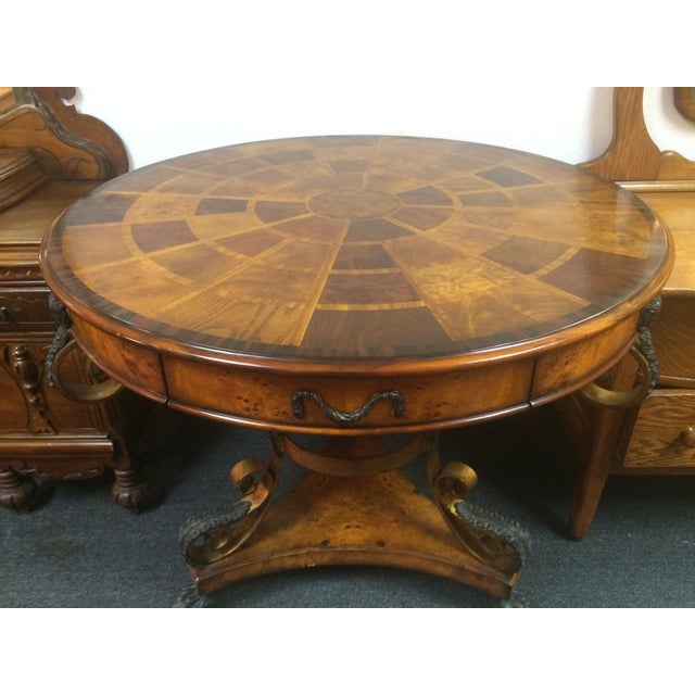 Theodore Alexander Inlay Entry Table Chairish
