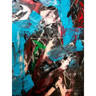 """""""Gehry Scaffold"""" Abstract Acrylic Painting"""
