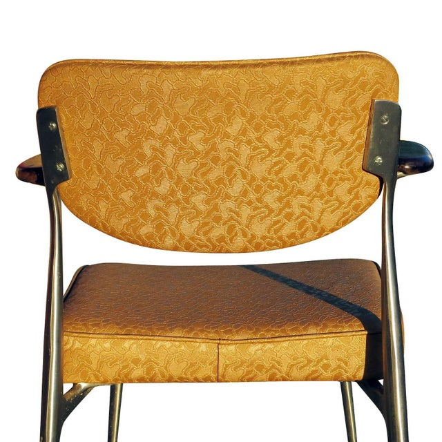Aluminum Gazelle Armchairs by Shelby Williams -S/4 - Image 9 of 10