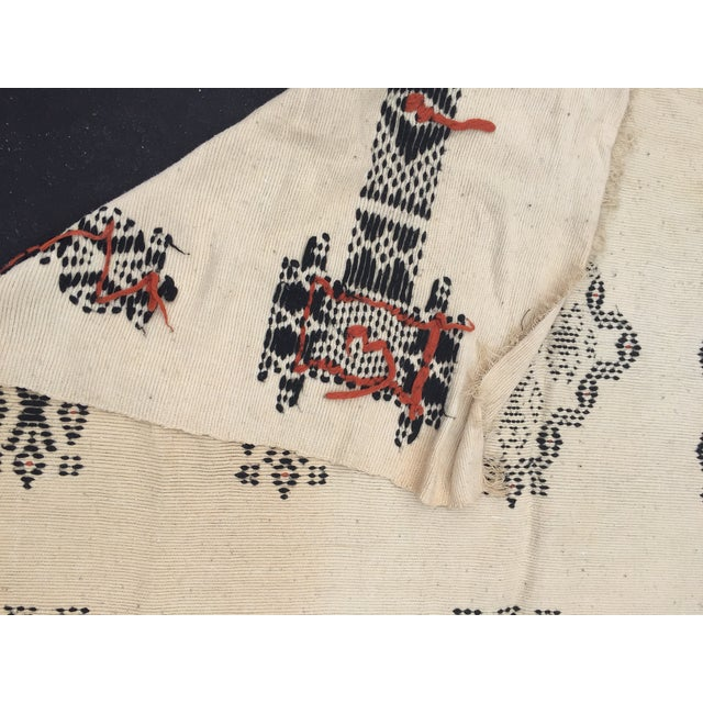 Vintage Native American Rare Blanket Hand Woven - Image 5 of 11