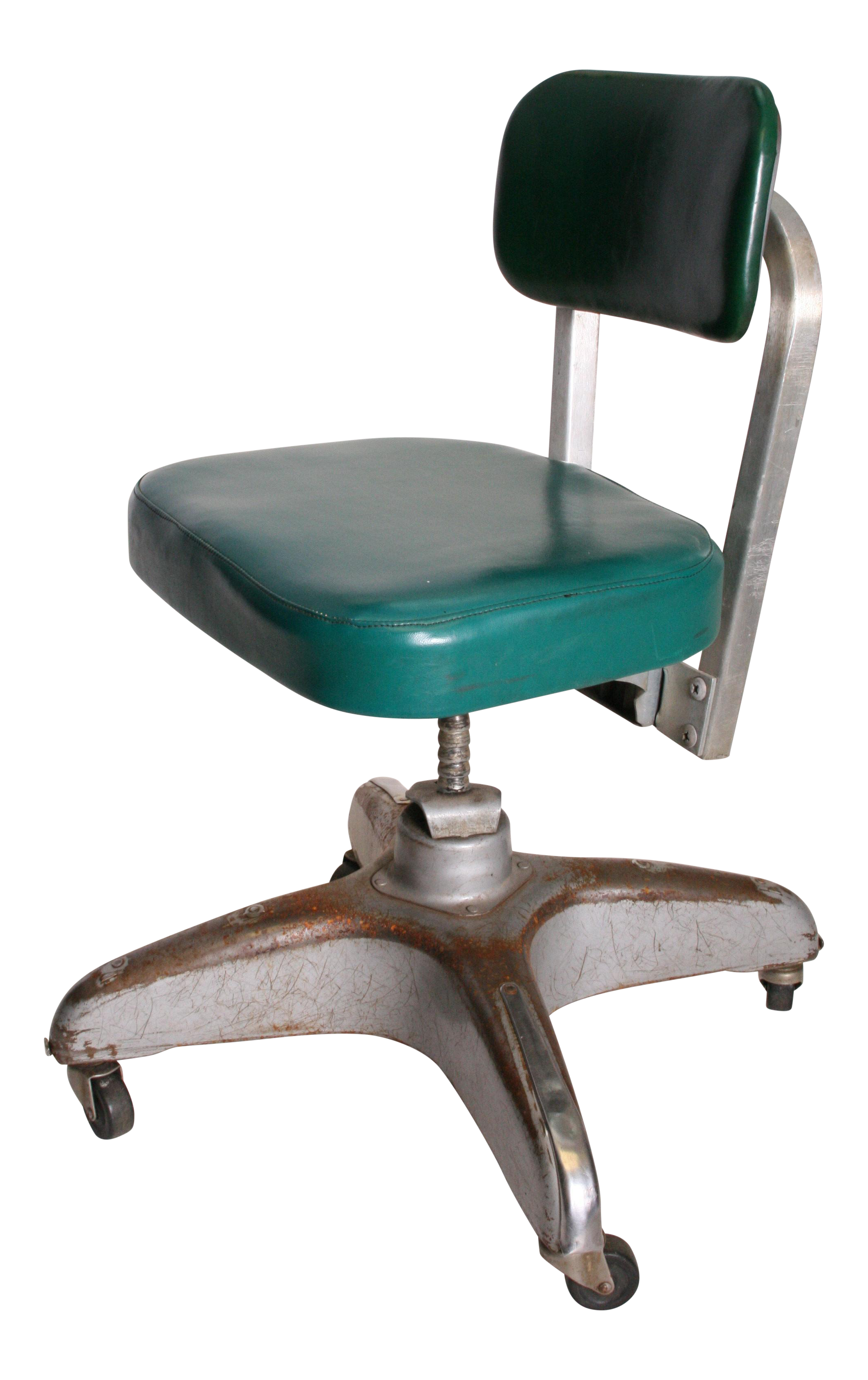vintage office chair. vintage industrial swivel office chair by cole steel e