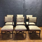 Image of Wooden Ornate Dining Chairs - Set of 6