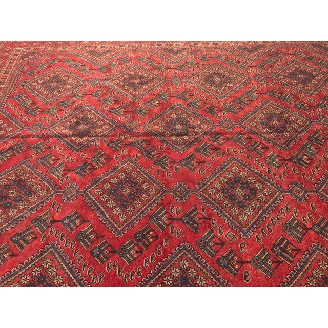 "Vintage Persian Yalameh Area Rug - 7'8"" x 9'7"" - Image 5 of 11"