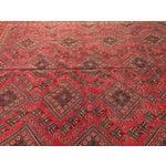 "Image of Vintage Persian Yalameh Area Rug - 7'8"" x 9'7"""