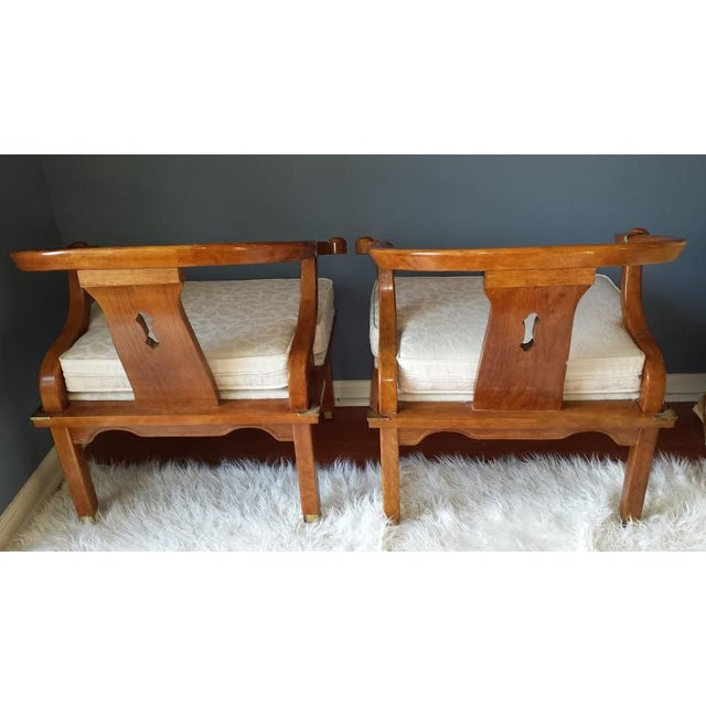 James Mont Style Chairs - A Pair - Image 4 of 8