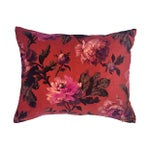 Image of House of Hackney Floral Velvet Pillows - A Pair