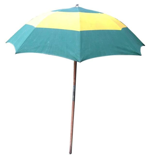 Vintage Canvas Umbrella - Image 1 of 8