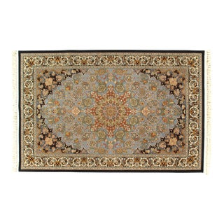 Pasargad NY Persian Fine Tabriz Machine-Made Rug - 5′ × 8′