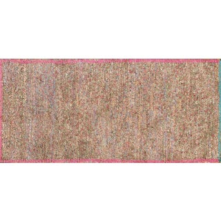 Recycled Wool Moroccan Rug - 3′3″ × 7′