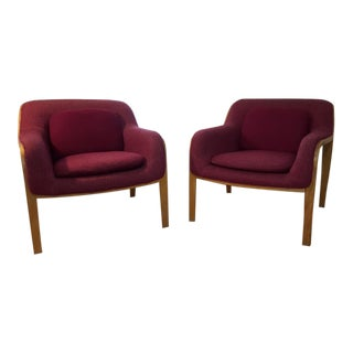Knoll Stephens Club Chairs - A Pair