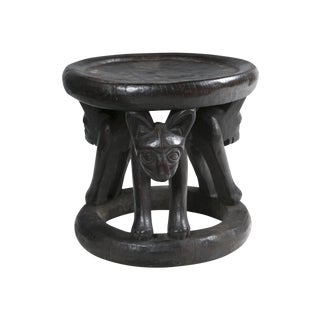Cameroon Hand-Carved Chief's Chair