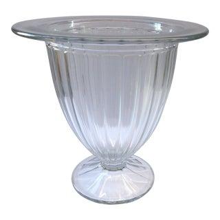 1940s Vintage Glass Champagne Bucket/Vase