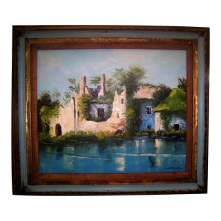 Original California Mission Painting by C. Gist