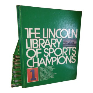 1993 Lincoln Library of Sports Champions - Set of 14