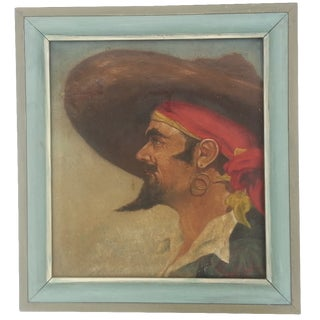Spanish Conquistador Oil Painting