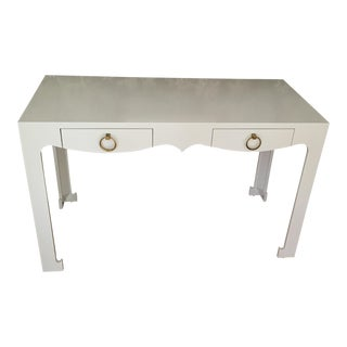 Bungalow 5 Jordan White Console/Desk