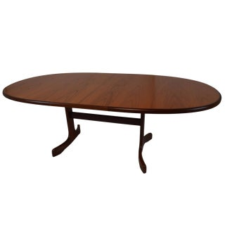 G Plan Mid-Century Modern Teak Extension Dining Table