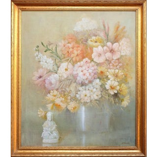 Chinoiserie Flower Still Life Painting