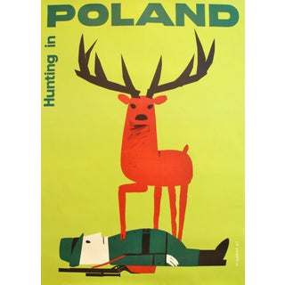 2013 Polish Promotional Poster Hunting in Poland by Wiktor Gorka