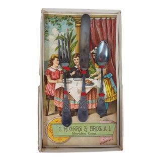 Antique C. Rogers & Bros. Child's Silverware Set
