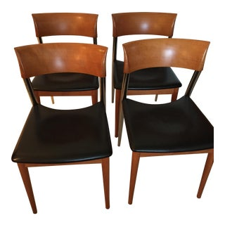 Roche Bobois Modern Dining Chairs - Set of 4