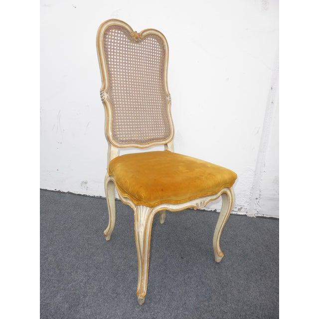 Vintage Karges Louis XV Style Cane Back Chairs - Image 5 of 11