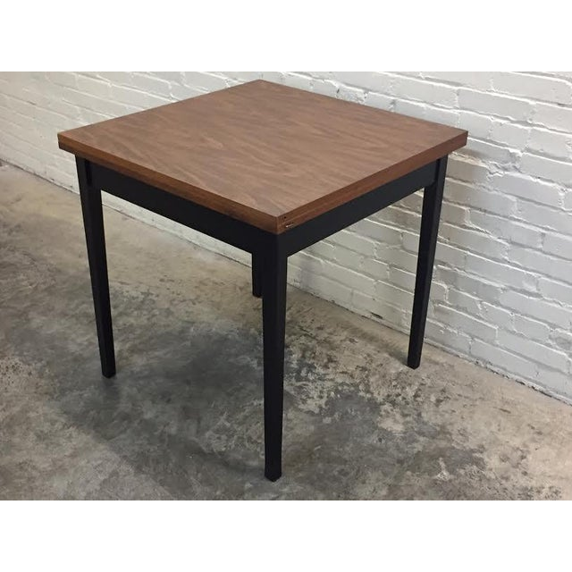 Mid-Century Modern Folding Top Dining/Card Table - Image 6 of 7