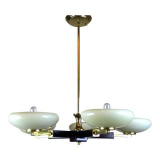 5 light Mid Century Modern Bakelite Fixture