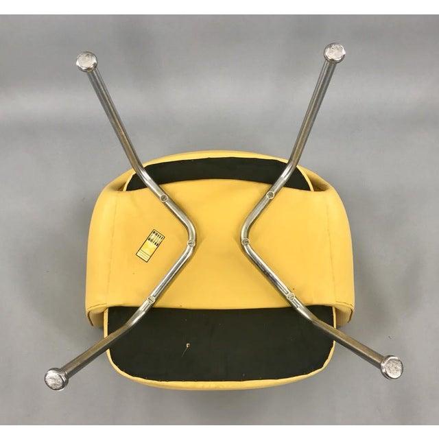 Original 1950's Vintage Eero Saarinen for Knoll Model 71 Executive Armchairs - a Pair - Image 9 of 11