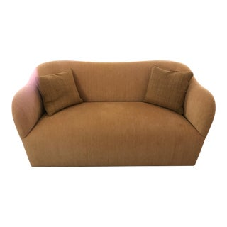 J. Robert Scott Gold Wave Settee