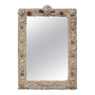 Custom Tropical Shell Mirror