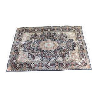Vintage Silk Road Wool Persian Style Rug - 6′ × 9′2″