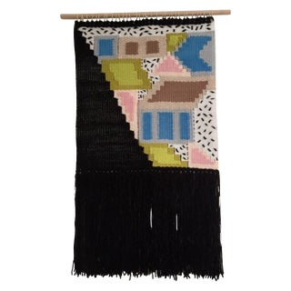 Pop Princess Weaving Tapestry Wall Hanging