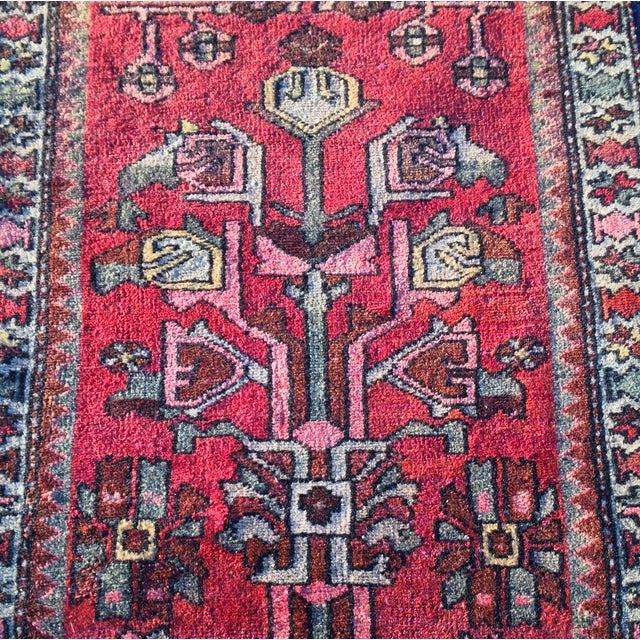 """Zanjan Persian Rug - 2'2"""" X 4'1"""" - Image 6 of 8"""