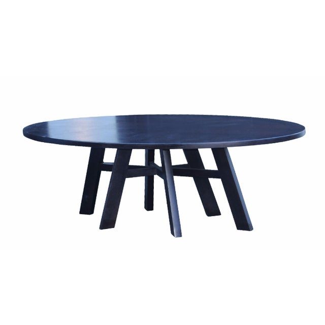 Christian Liaigre Oval Dining Table - Image 1 of 4