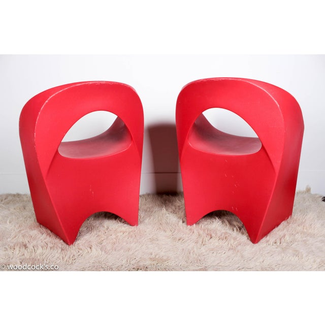 "Image of Soft line Allkit Mid-Century ""Space Age"" Jet Chairs - Set of 4"