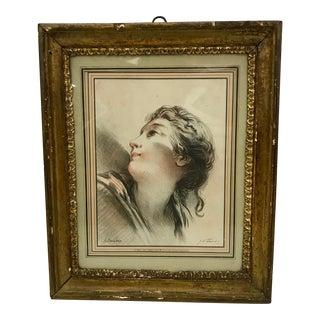 Antique French Hand Colored Lithograph by G. W. Thomley C.1880
