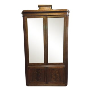 Art Deco Mahogany 2 Door Cabinet