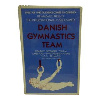 "Danish Gymnastics ""Spirit of 1980 Olympics"" Team Poster"