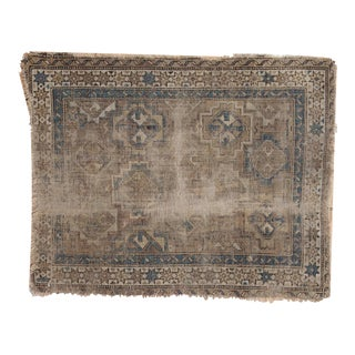 "Antique Chi Chi Square Rug Mat - 1'11"" x 2'6"""