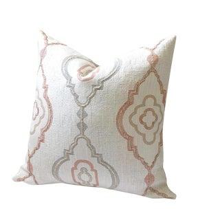 Woven Blush Designer Pillow Cover