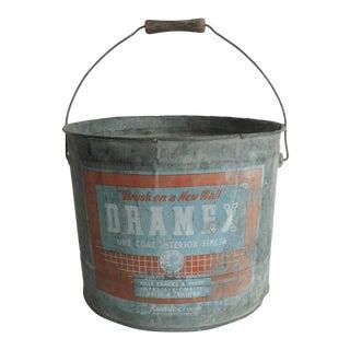 Mid-Century Dramex Paint Bucket