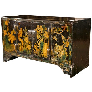 Chinoiserie Style Wooden Chest