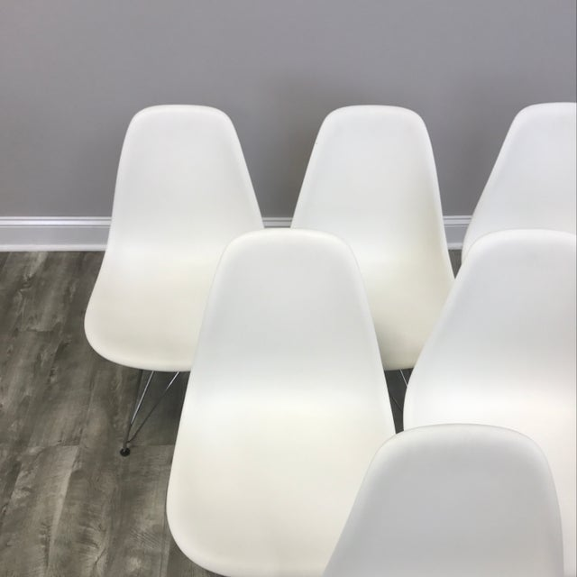 Eames Molded Dining Chairs - Set of 6 - Image 4 of 11